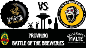 Provning - Battle of the Breweries @ Malmö - Lund