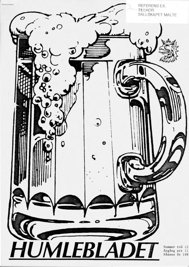 Humlebladet #2, 1987