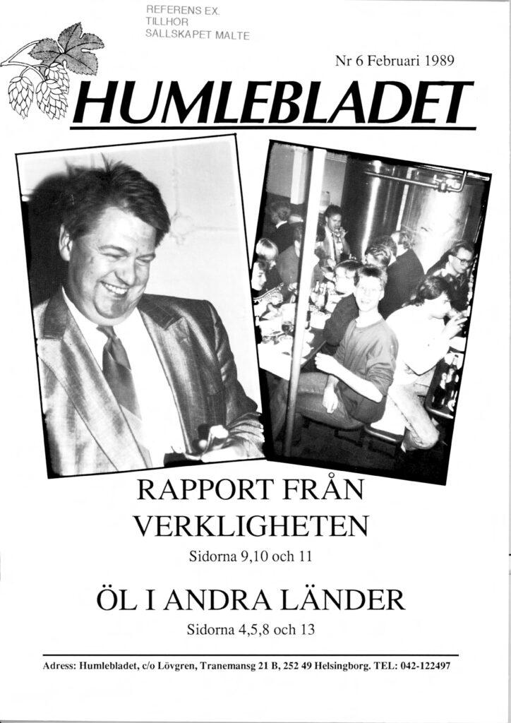 Humlebladet #6, 1989