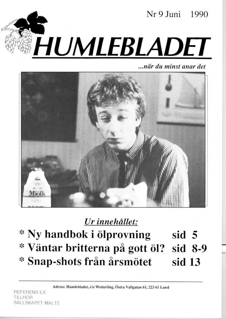 Humlebladet #9, 1990