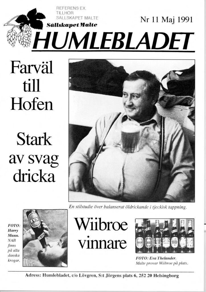 Humlebladet #11, 1991