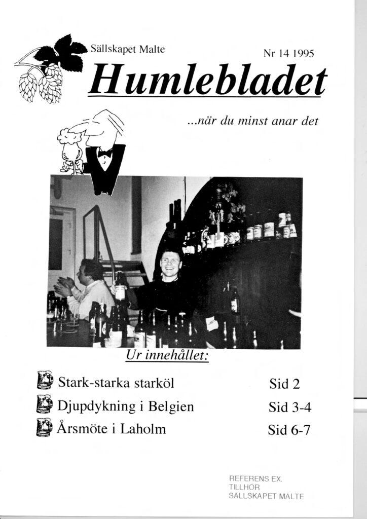 Humlebladet #14, 1995