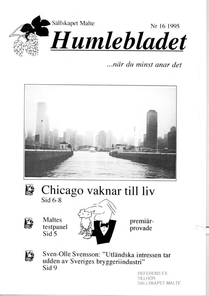 Humlebladet #16, 1995