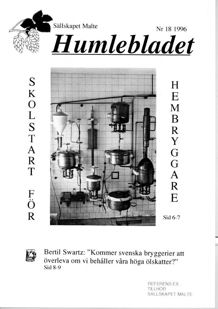 Humlebladet #18, 1996