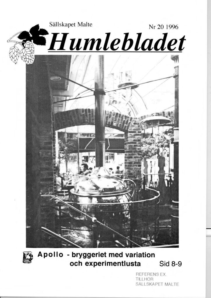 Humlebladet #20, 1996