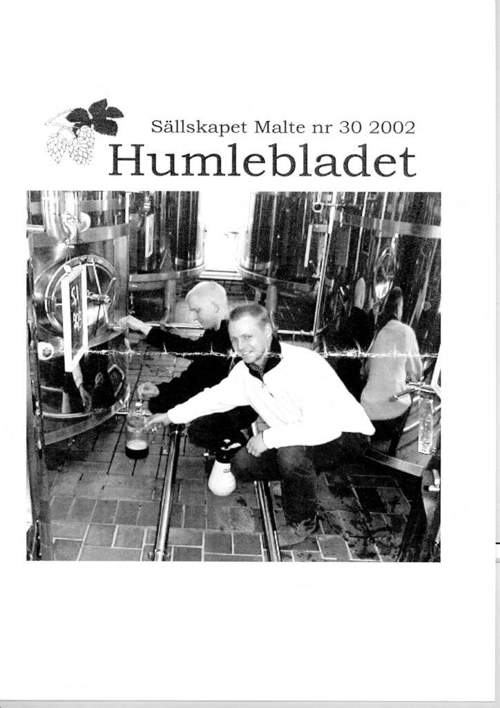 Humlebladet #30, 2002